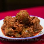A plate with brinjal pickle