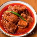 A serving bow with vindaloo.