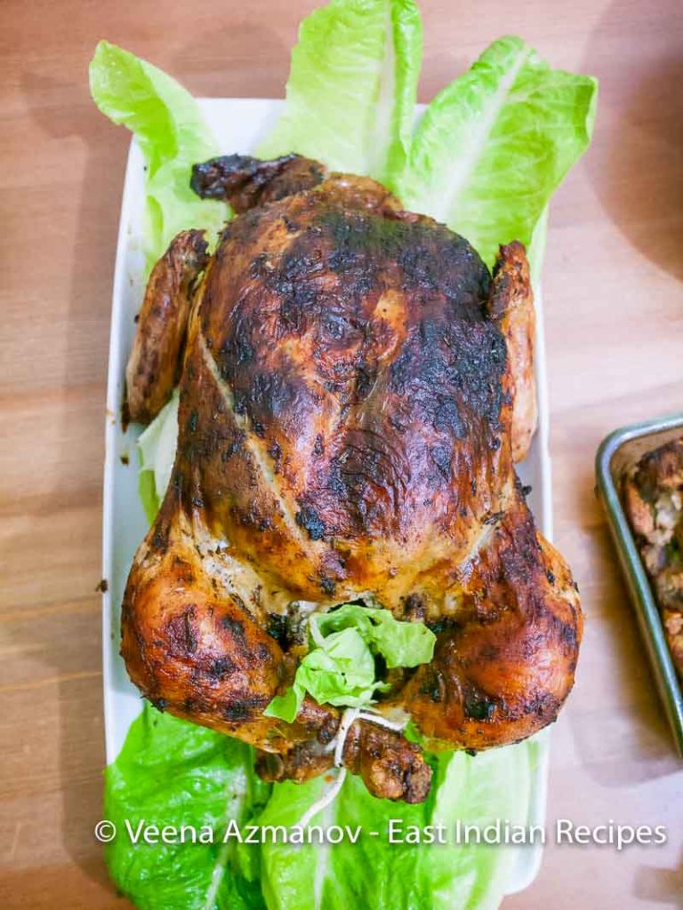 East Indian Roast Chicken Recipe, Perfect Indian Roast Chicken