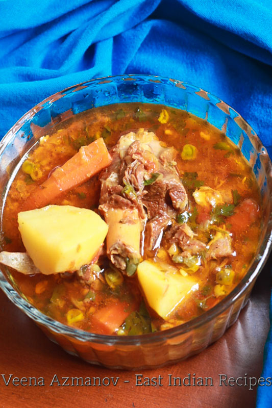 Mutton Stew authentic east Indian recipe