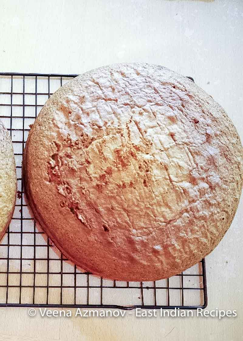 Making a semolina cake with coconut flavor is simple and easy in less than an hour
