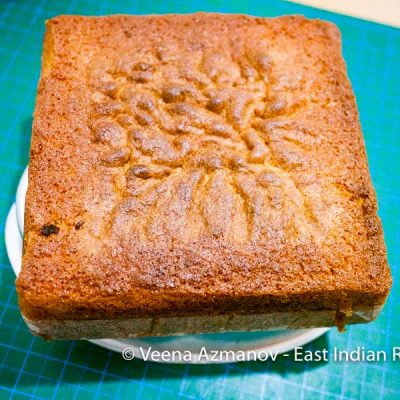 How to Make a Light Fruit Cake for Christmas - East Indian Recipes