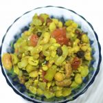 East Indian Mixed Sprouts Usal Foogath Curry