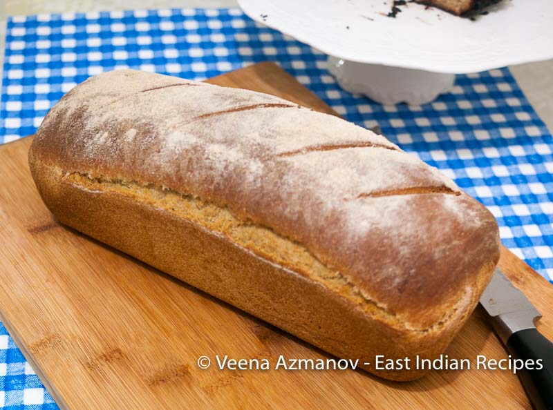 How to make homemade brown bread for sandwiches.