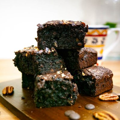 How to Make Moist Brownies at Homemade with Dark Chocolate