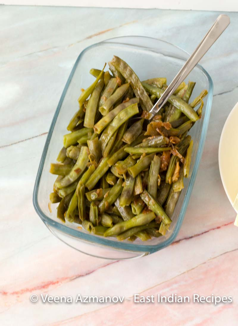 How to make a foogath with cluster beans called gawar