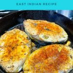Pinterest image for Fried Fish with Bottle Masala.